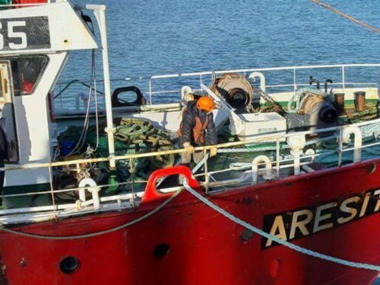 FOTO: El control del Aresit en el puerto está a cargo de la Prefectura Naval Argentina.