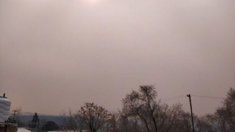 FOTO: Incendios en las Sierras de Córdoba: Cosquín.