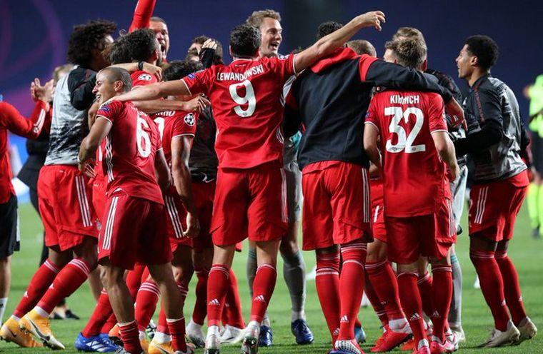 FOTO: El Bayern Múnich ganó la sexta Liga de Campeones.