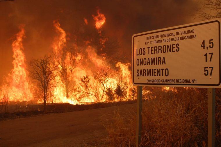 AUDIO: Quedó libre uno de los acusados de iniciar un incendio forestal en Córdoba