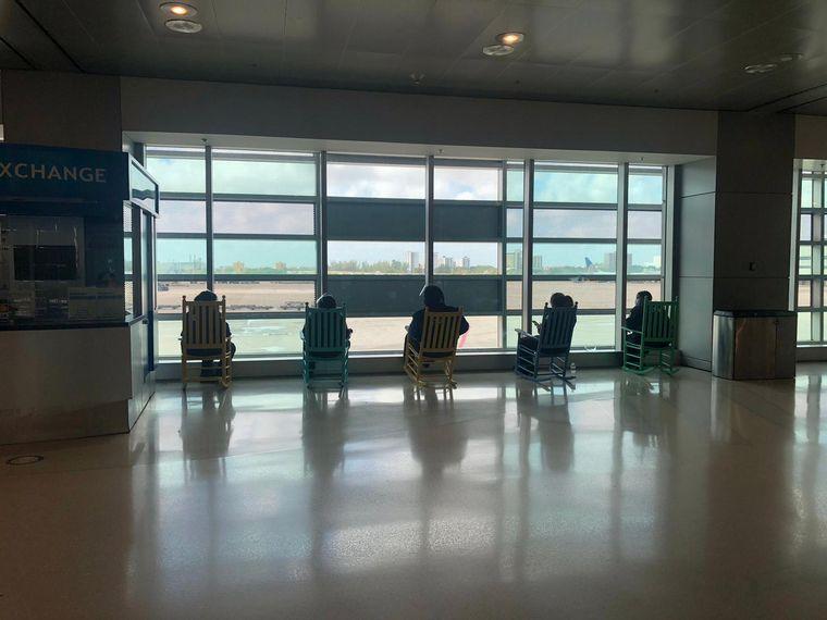 FOTO: Viajar en tiempos de pandemia: Aeropuerto de Colorado, Estados Unidos