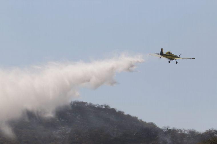 FOTO: El fuego en Córdoba arrasó con más de 45 mil hectáreas.