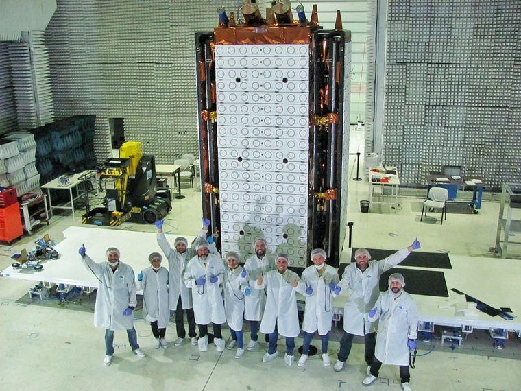 FOTO: El Saocom 1B será lanzado desde EE.UU.