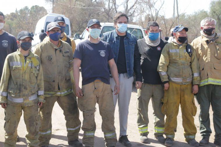 FOTO: El ministro estuvo acompañado por autoridades provinciales.