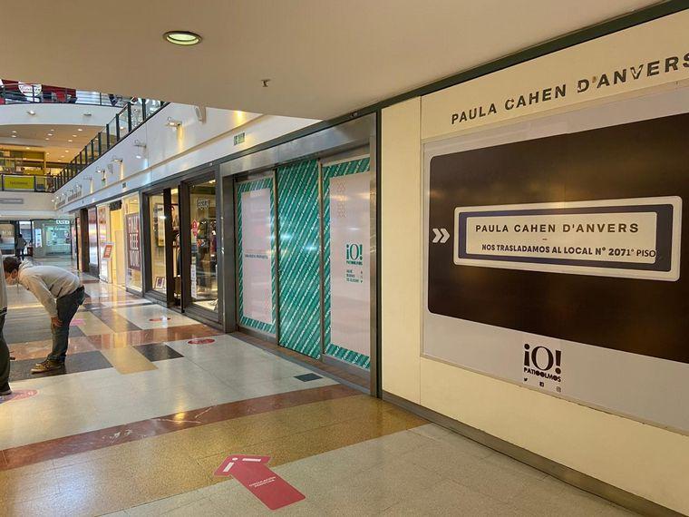 AUDIO: Continúan cerrados entre un 30% a 10% de locales en shopping en la capital de Córdoba