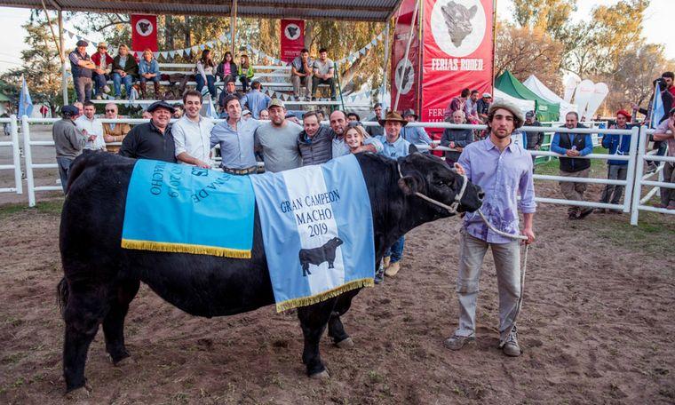 FOTO: Predio de la Sociedad Rural Huinca Renancó. Foto: Diego Bertaina