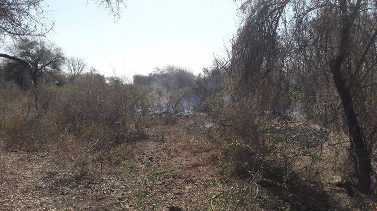 AUDIO: Un detenido por comenzar el fuego en Bañado de Soto