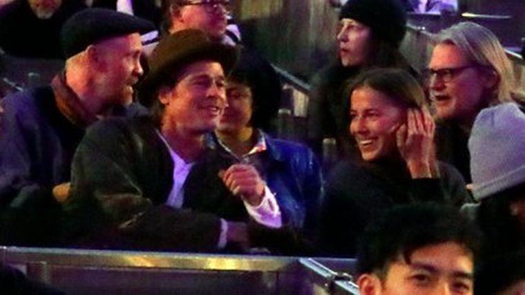 FOTO: Brad Pitt y Nicole Poturalski están en pareja desde el año pasado.