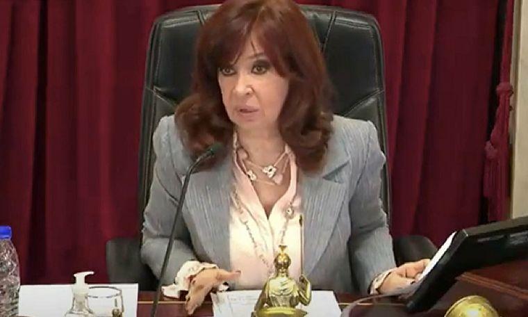 FOTO: La senadora Fernández Sagasti hizo referencia a amenzas contra Cristina Kirchner.