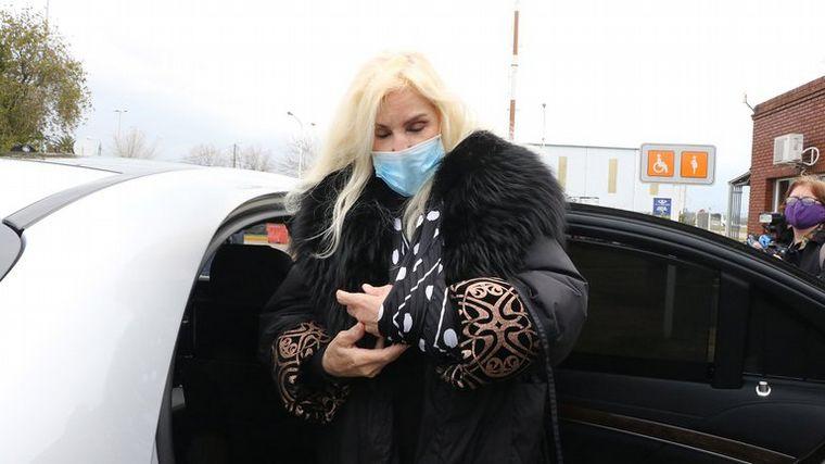 FOTO: Susana Giménez fue operada por la lesión en el codo izquierdo.