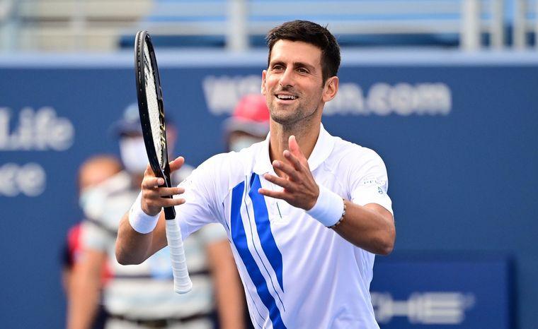 FOTO: Djokovic venció en la final a Raonic y se quedó con el título en el Masters 1000