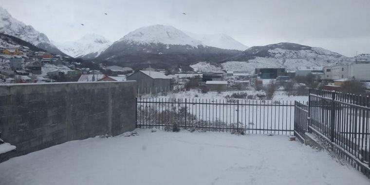AUDIO: Fin de semana con intensas nevadas en Ushuaia.