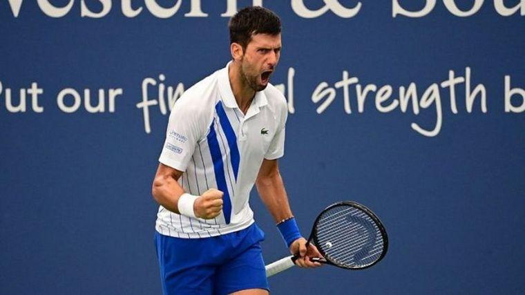 FOTO: Novak Djokovic busca alcanzar la misma cifra de Masters 1000 que Rafael Nadal.