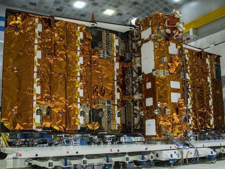 FOTO: Este domingo se lanzó al espacio el satélite argentino.