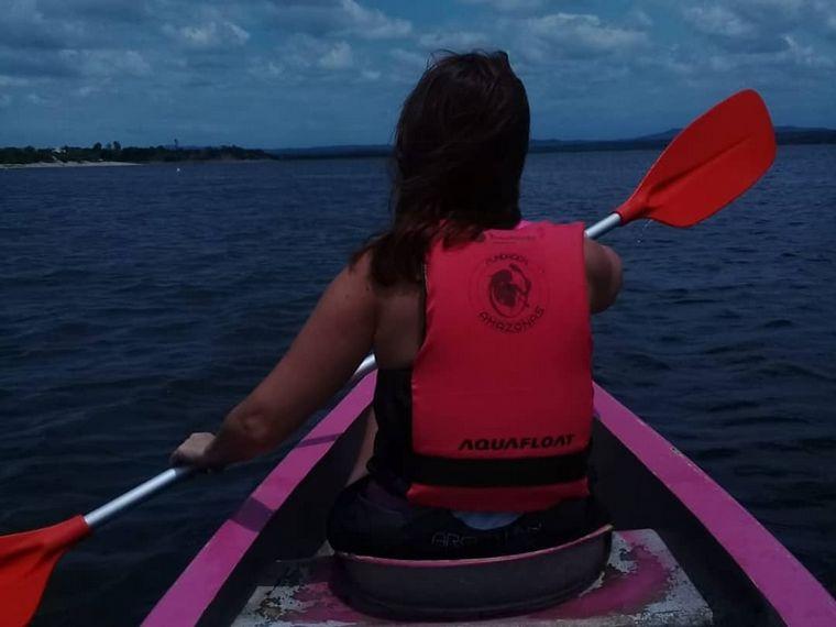FOTO: Más de 100 cordobesas integran Fundación Amazonas y practican remo.