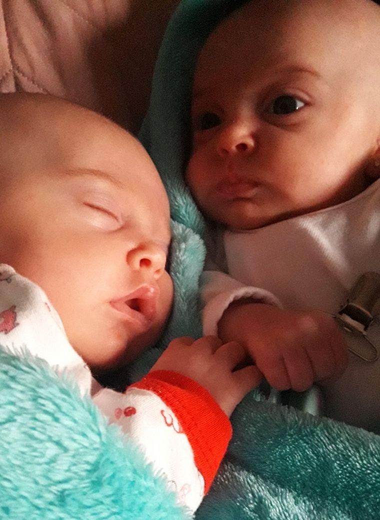 AUDIO: Romina y Maxi tuvieron gemelas hace diez años y este año nacieron mellizas.