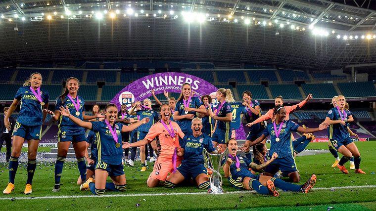 FOTO: El conjunto francés retuvo el título por quinta vez consecutiva.