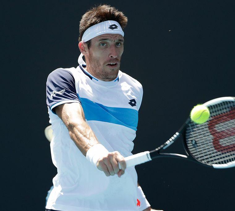 FOTO: Guido Pella cayó en su debut en el US Open 2020 (Foto: @ESPNtenis)