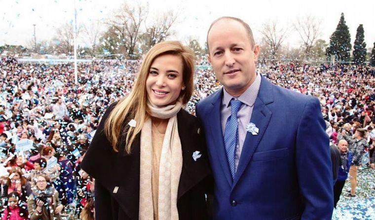 FOTO: Jesica y Martín son padres de Chloé.