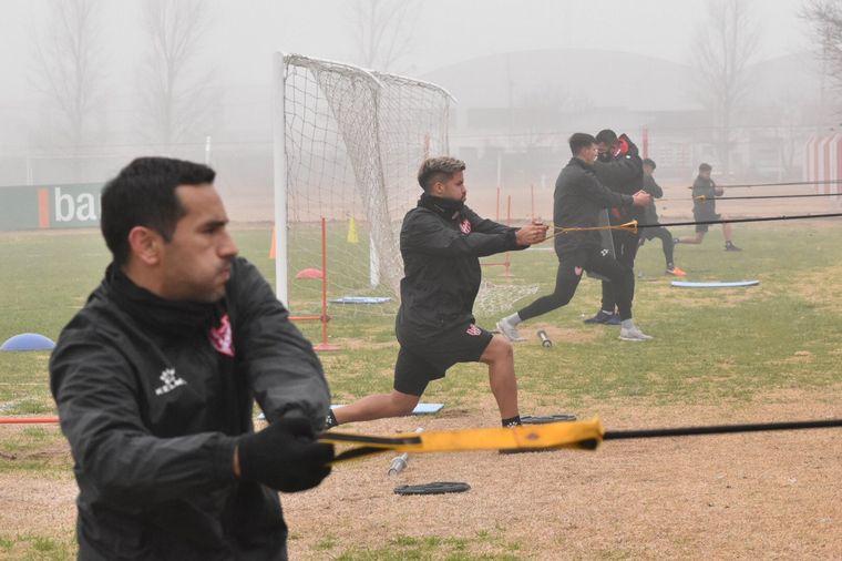 FOTO: Pablo Vegetti, capitán y goleador de Belgrano.