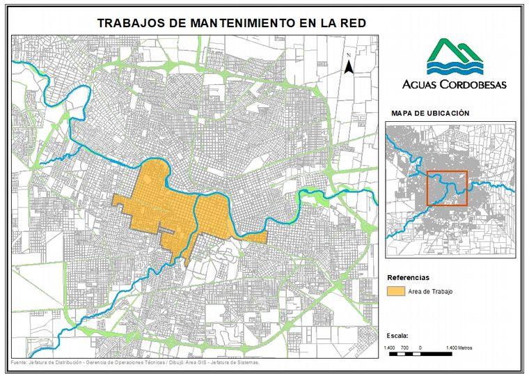 FOTO: Restringen el servicio de agua en barrios de la ciudad de Córdoba.