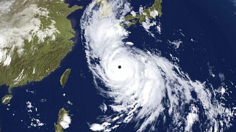 FOTO: El tifón Haishen pone en alerta al sur de Japón.