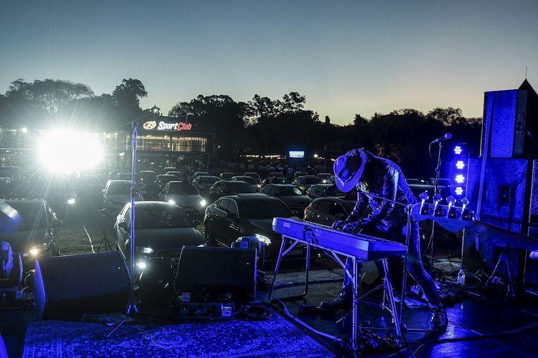 FOTO: Emocionante regreso de los shows en vivo a través de un autoconcierto.