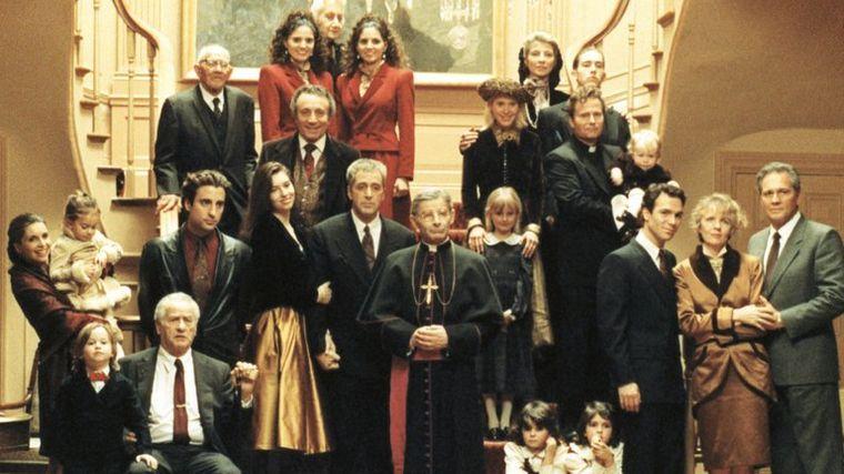 """FOTO: Los protagonistas Sofia Coppola y Andy García en """"El padrino III""""."""