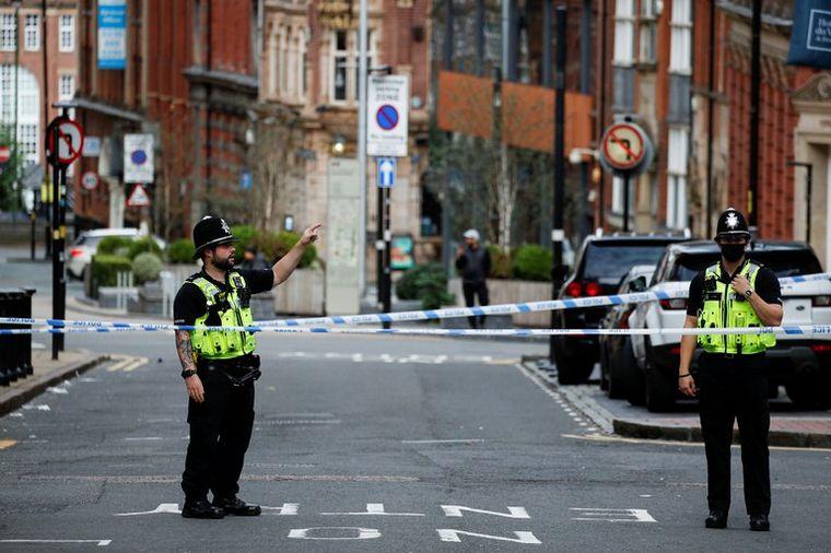 FOTO: Ataques con cuchillos en Birmingham: un muerto y al menos siete personas heridas.