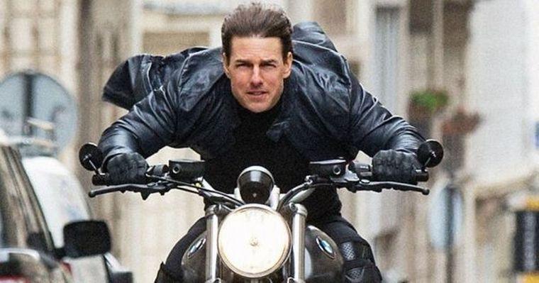 FOTO: Tom Cruise protagonizó otra escena impactante y sin dobles.