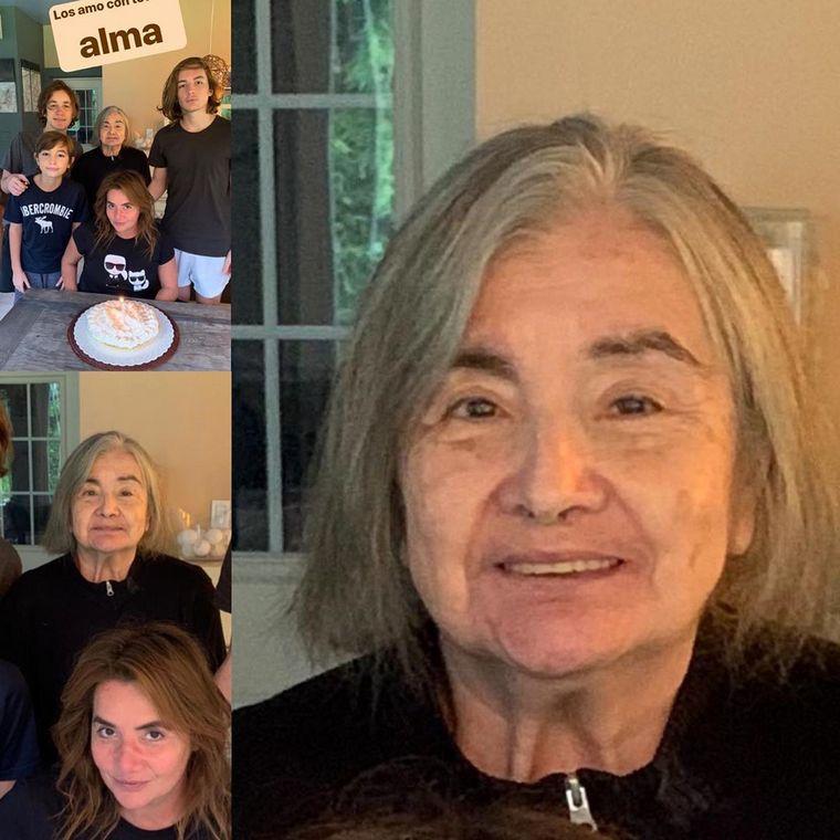 FOTO: Murió por coronavirus la mamá de Nancy Pazos