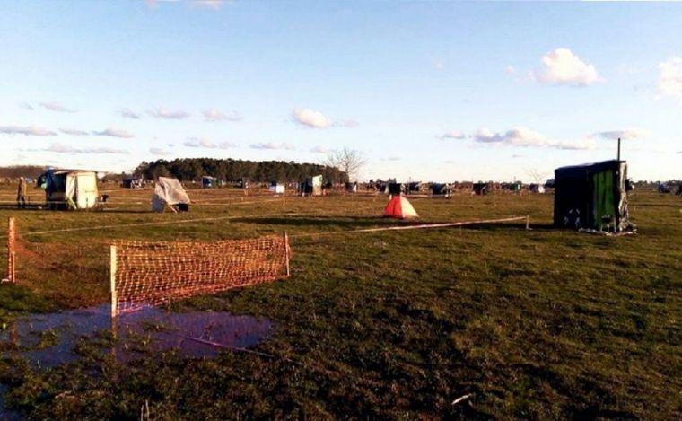 FOTO: Las familias deberán dejar los terrenos usurpados.
