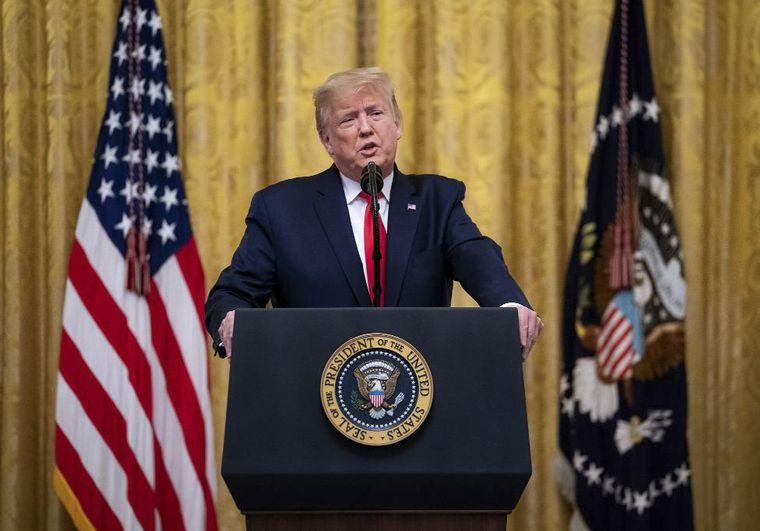 FOTO: Donald Trump, entre los nominados para el Premio Nobel de la Paz.