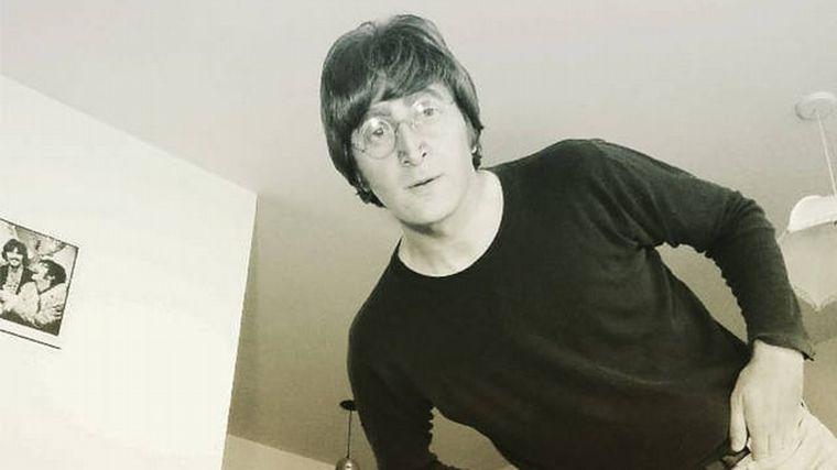 FOTO: Javier Parisi, el embajador de John Lennon en Sudamérica