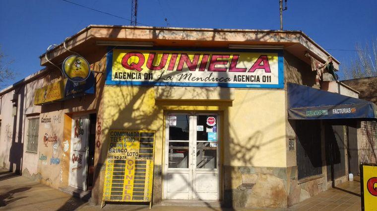 FOTO: Agencia de lotería de Mendoza que vendió el Quini 6