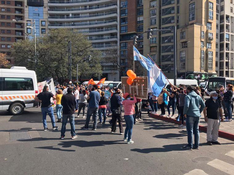 AUDIO: Córdoba: caos en el centro por protesta de transportistas