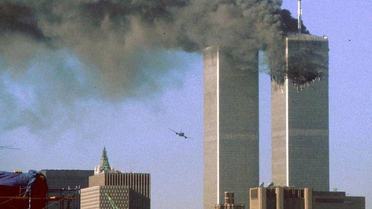 FOTO: 11S: imágenes impactantes de la caída de las Torres Gemelas