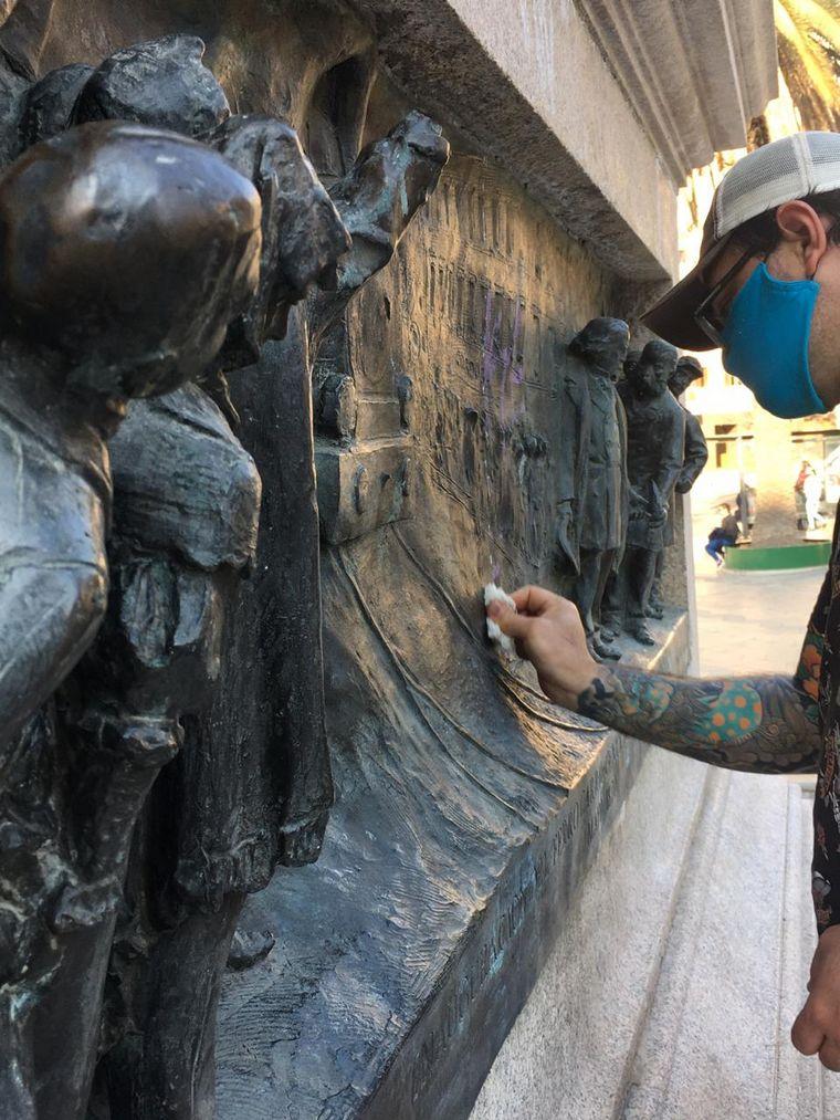 AUDIO: Restauradores explicaron cómo es el trabajo que hacen en la ex plaza Vélez Sarsfield