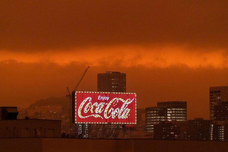FOTO: Los incendios afectan a California y otros Estados del oeste.