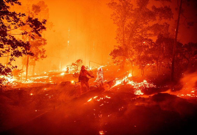 FOTO: Estados Unidos en llamas