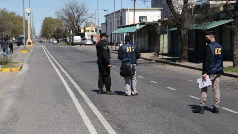 FOTO: Ocurrió a la salida del entierro en el cementerio La Piedad (Foto: Rosario 3)