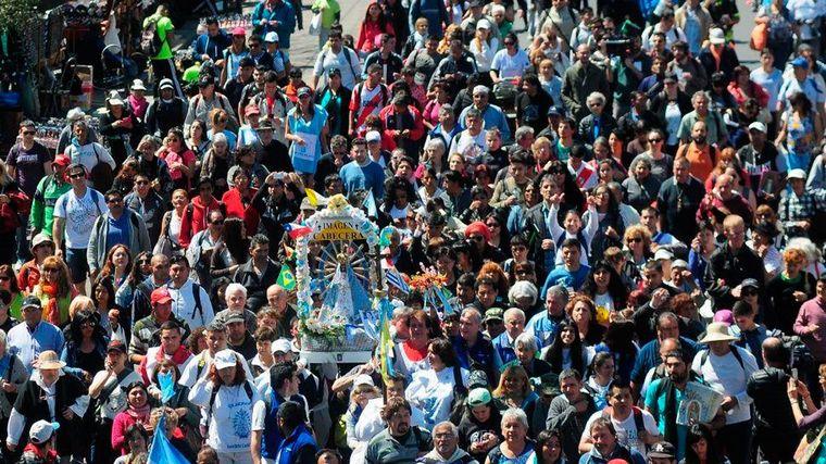 FOTO: El evento es una de las manifestaciones de fe más importante del país.