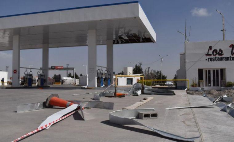 FOTO: Drama en Chubut por un temporal de viento (Fotos: El Chubut).