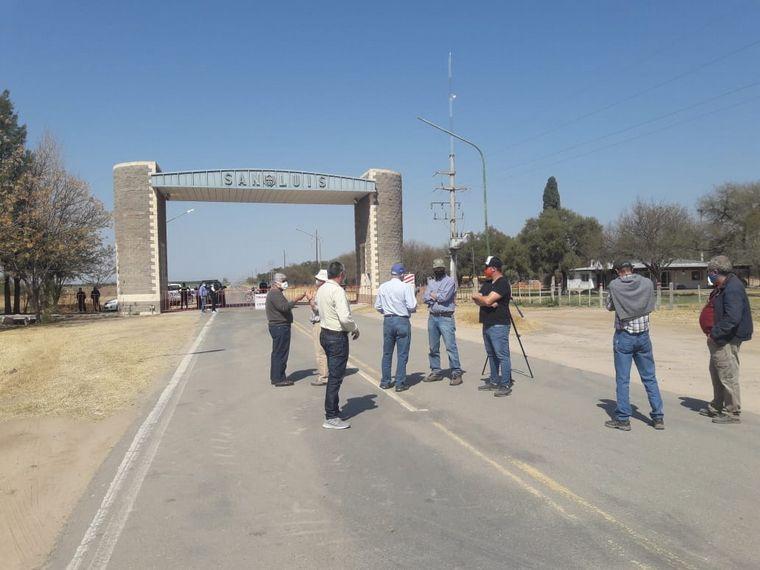FOTO: Productores de papa de Córdoba piden ingresar a San Luis.