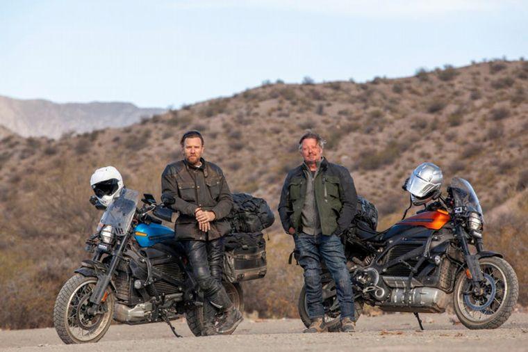 FOTO: McGregor viajó junto a su amigo Charley Boorman por toda América Latina.