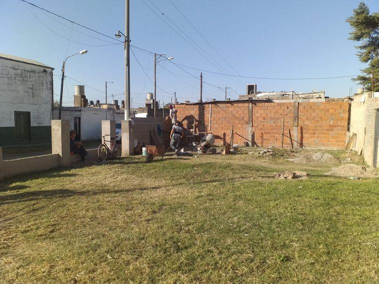FOTO: El acto oficial en la plaza del barrio Residencial San Roque