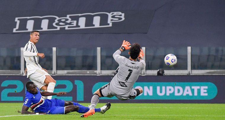 FOTO: La Juventus goleó a la Sampdoria.