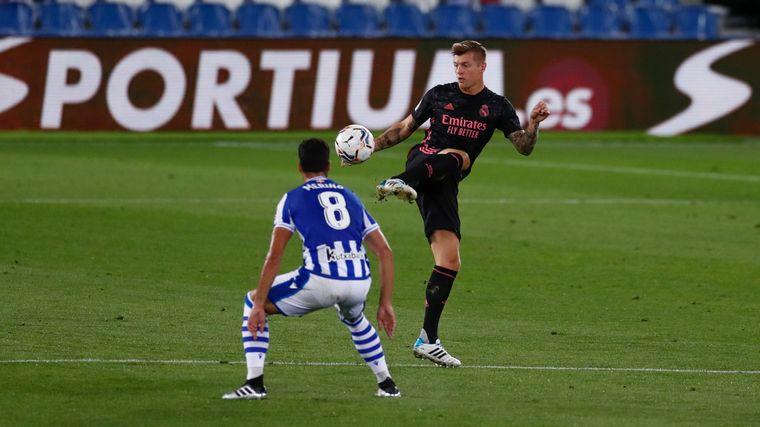 FOTO: El Real Madrid igualó sin contra contra la Real Sociedad.