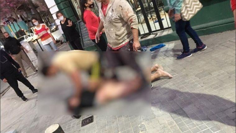 AUDIO: Desfiguraron y desnudaron a un ladrón en Rosario