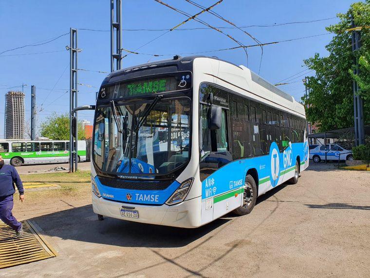 FOTO: La unidad a GNC de Tamse comenzará cubriendo el recorrido de la línea B
